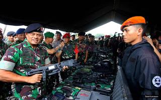 Panglima TNI telah Kantongi Informasi Tentang Adanya Demo saat Minggu Tenang jelang Pilkada - Commando