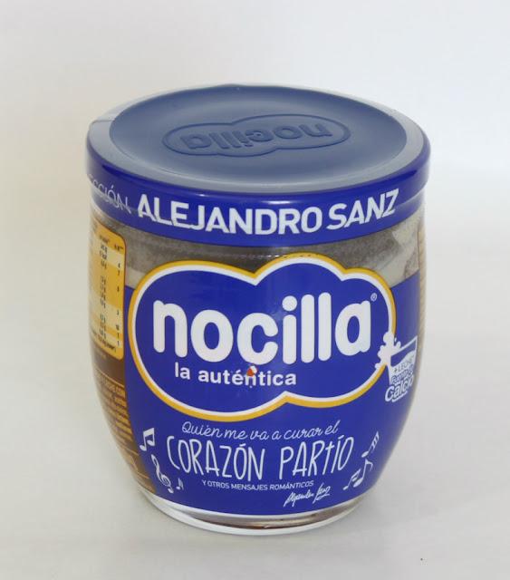 Nocilla Chocoleche Edición Alejandro Sanz