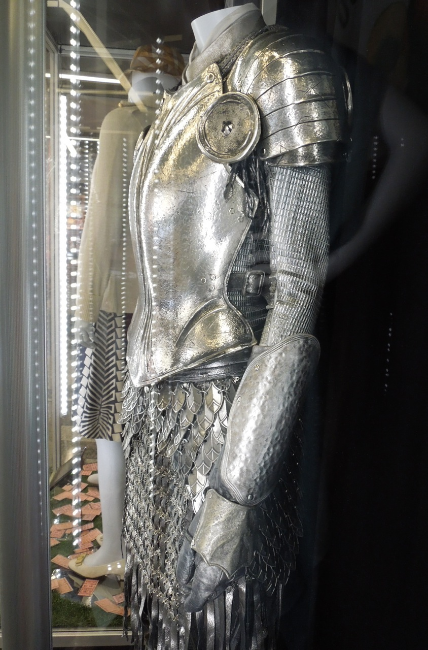 White Knight Armour From Alice In Wonderland On Display