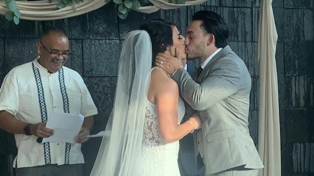 Tessa Blanchard e Daga se casam