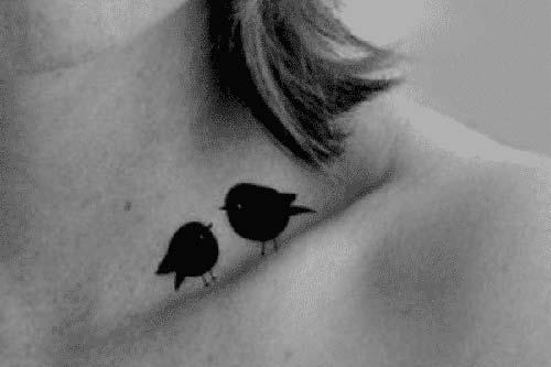 köprücük kemiği tumblr dövmeleri