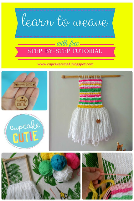 How to weave: Free step-by-step tutorial
