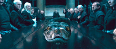 Harry Potter Reliquias de la Muerte: Parte 1 serpiente nagini malfoy manor voldemort