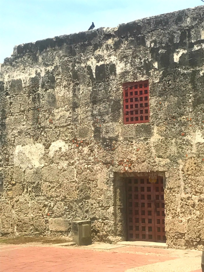 fortress walls in cartagena colombia