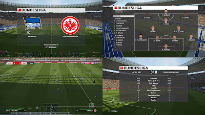 PES 2019 Scoreboard Bundesliga v2 Season 2018/2019 by 1002MB