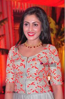 Actress Madhu Shalini Exclusive Stills in Party Dress at Vijay Karan Aashna Wedding  0035.JPG