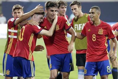 España vs. Inglaterra, Final Sub-17