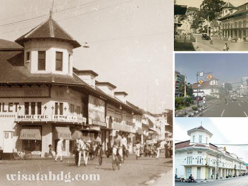 Sejarah Gedung d Vries Bandung