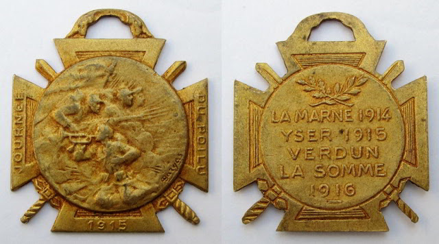 Medaille Journée du Poilu - le grand guerre