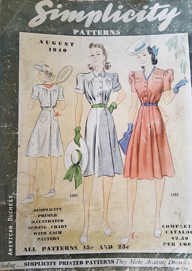 Simplicity August 1940