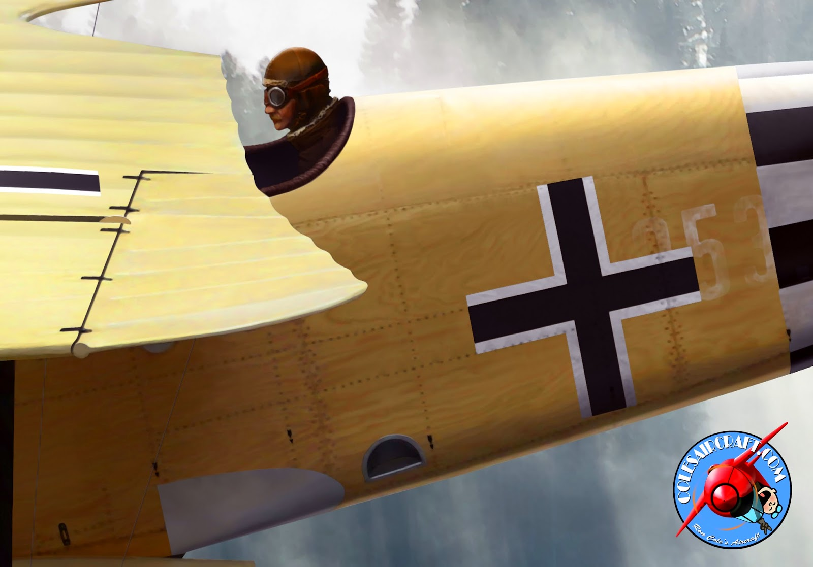 Aviation Art of Ron Cole & Cole\'s Aircraft: 2014