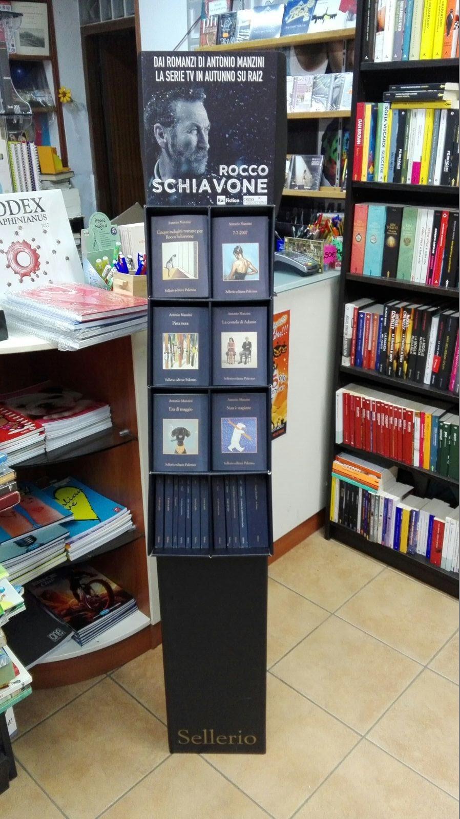 La Libreria Il Sole e la Cometa promuove Manzini, Sellerio