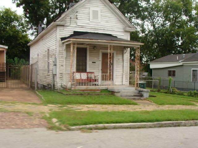 Haus in Mississippi - arm aber glücklich