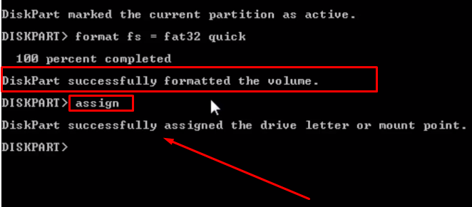 Pen Drive Format Using Command Line
