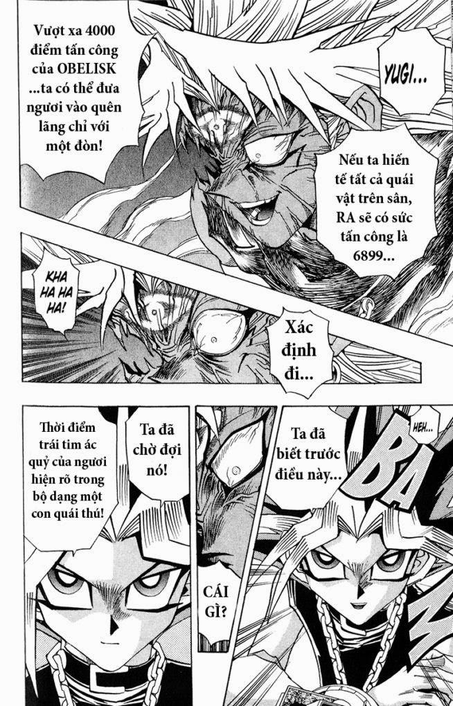 YUGI-OH! chap 274 - đòn tấn công từ bóng tối trang 10