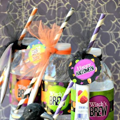 Super Easy DIY Halloween Witch's Brew