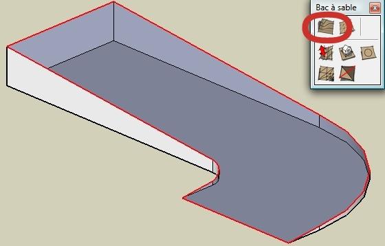 Formation sketchup parler en 3d dessiner une rampe dans for Outil miroir sketchup