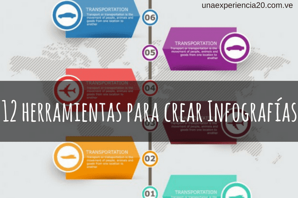 12 herramientas para crear infografías