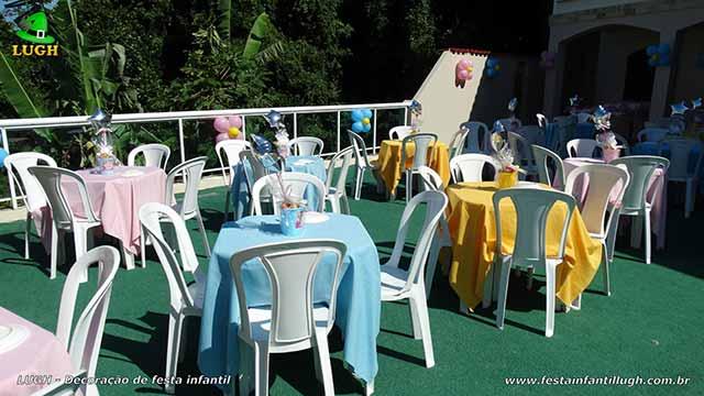 Toalhas para a mesa dos convidados
