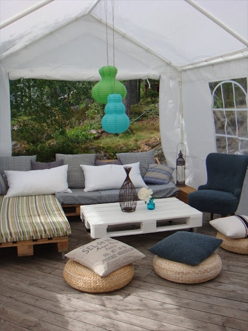 Diy Pallet Couch Attractive Addition For Living Room