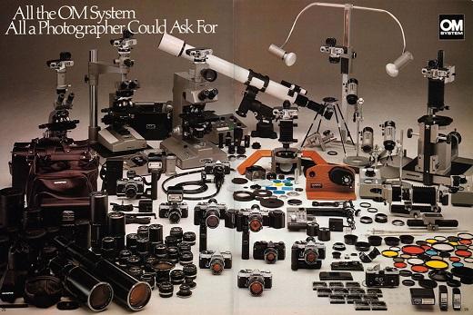 Olympus OM System Accessories