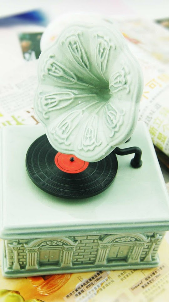 Vintage Gramophone   Galaxy Note HD Wallpaper