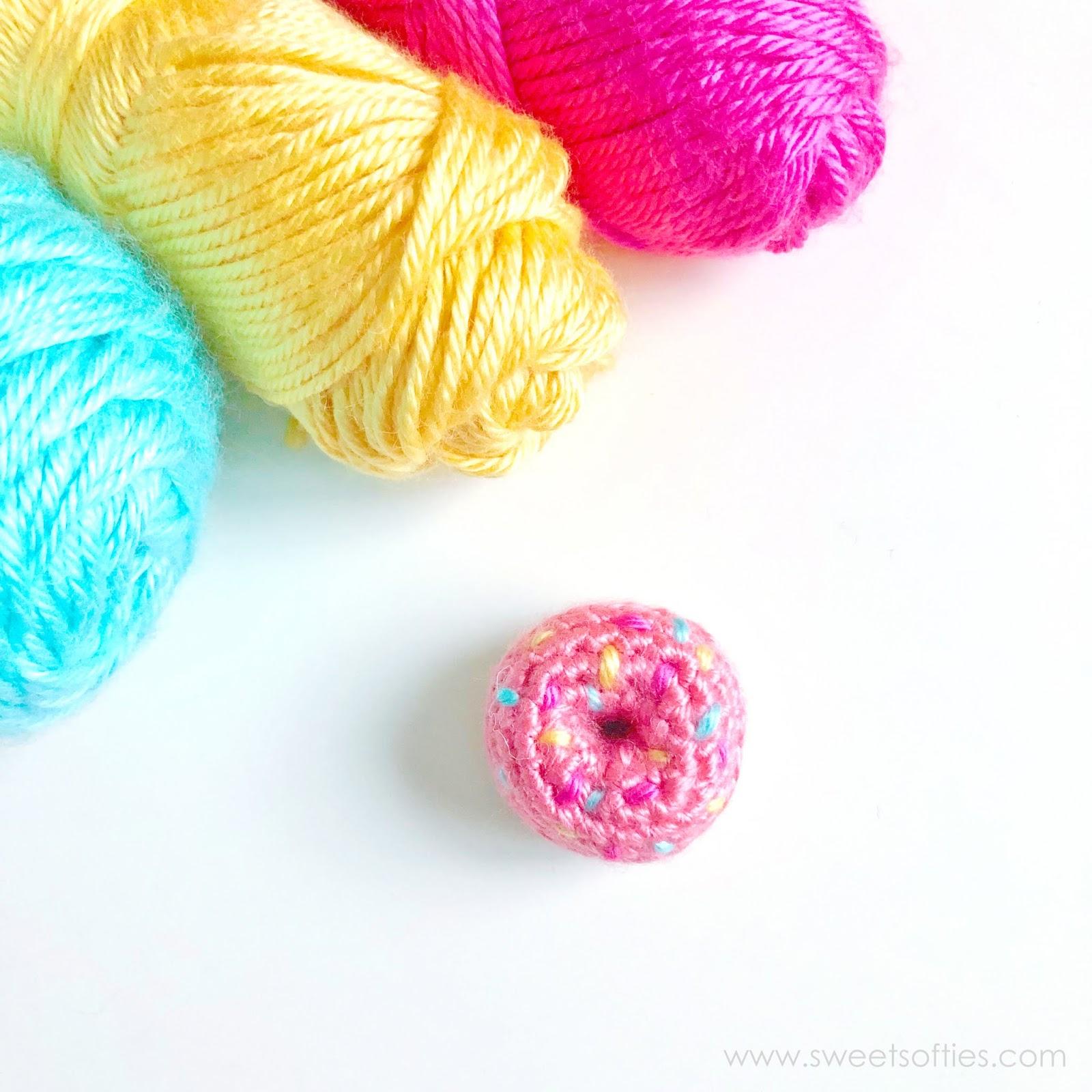 3 Donut Keychains, Crochet Donuts, 3 Donut Key Ring, Charms ...   1600x1600