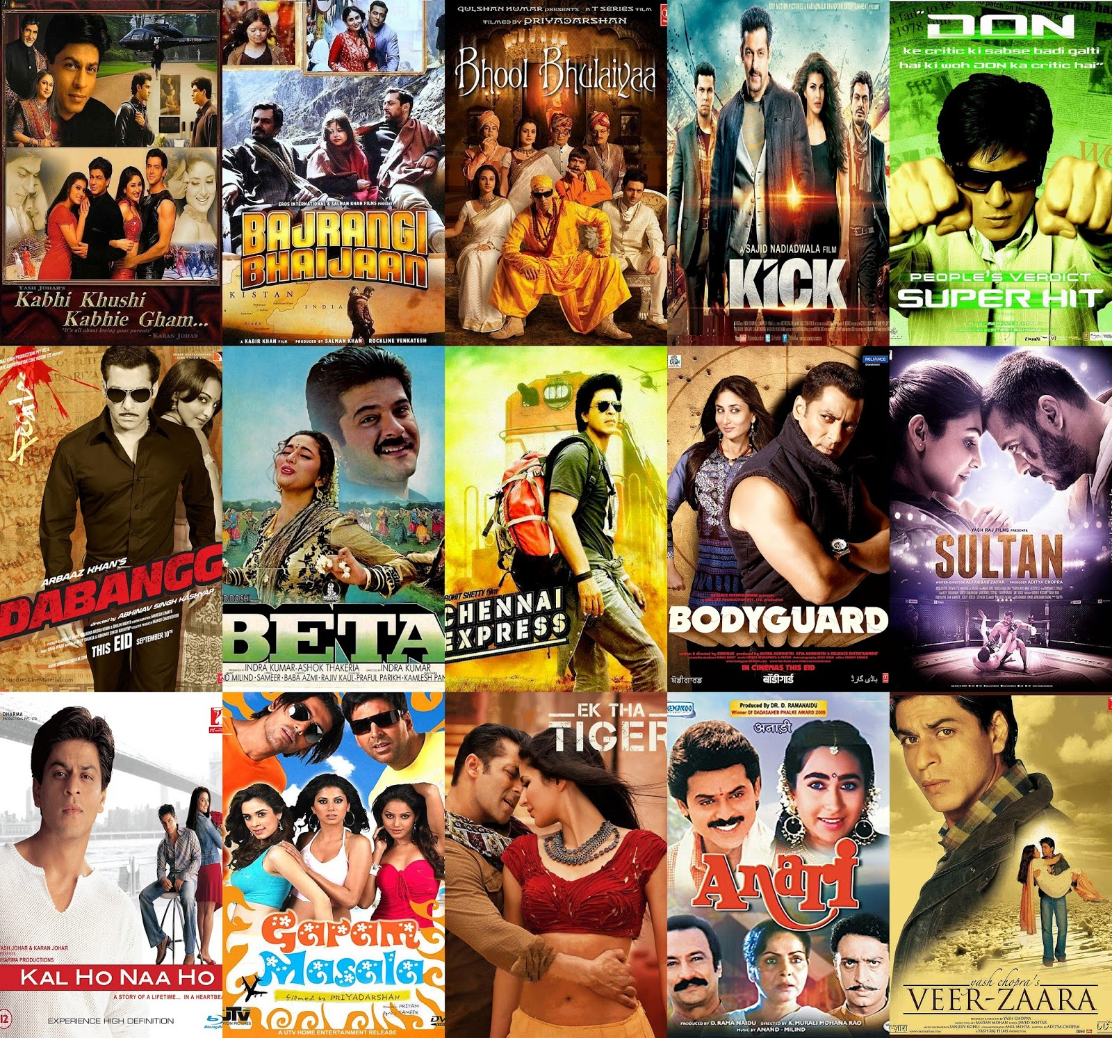 MOVIES RELEASED DURING EID (1990-2016