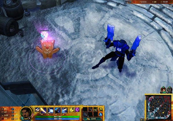 Mod Skin Lucian Blue Lantern