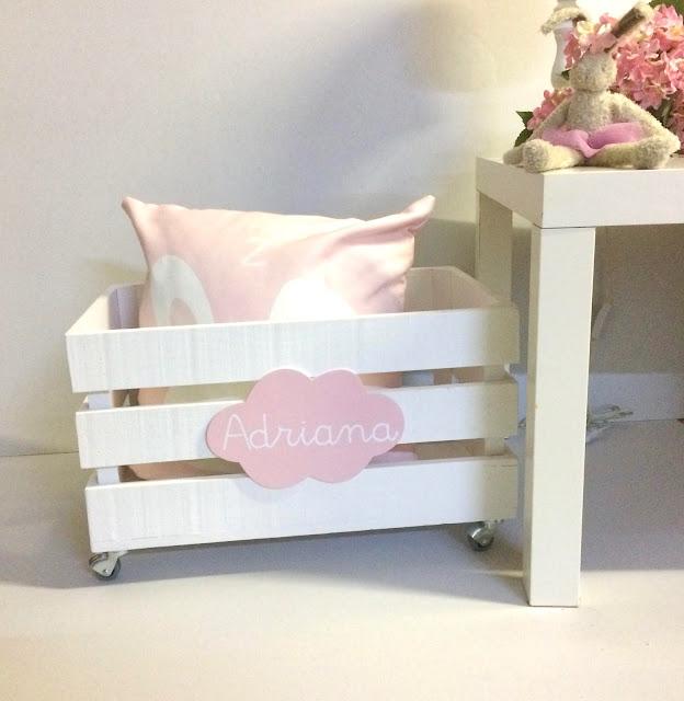 caixa de madeira para brinquedos , caja de madera para juguetes