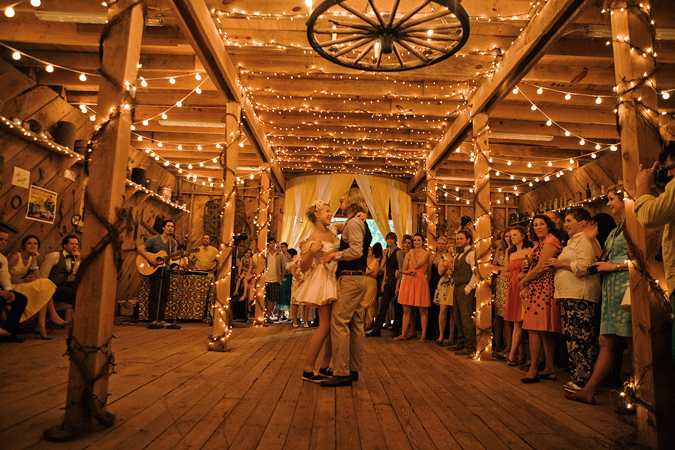 Vintage Lace: Barn Weddings