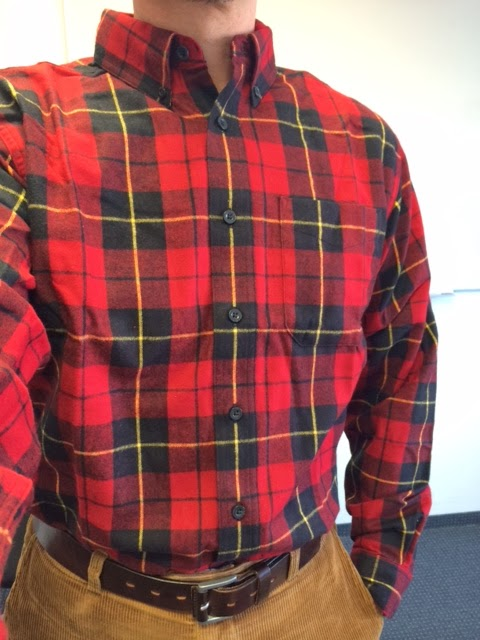 inner city style l l bean scotch flannel shirt arrived today. Black Bedroom Furniture Sets. Home Design Ideas