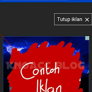 Contoh Page level ads