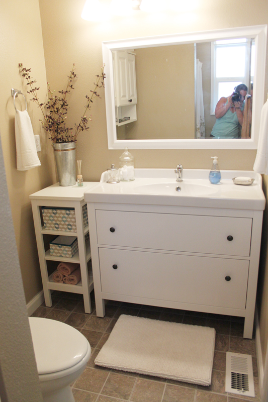 Ikea Bathroom Vanity Units: Bebe A La Mode Designs: Master Bath Reveal