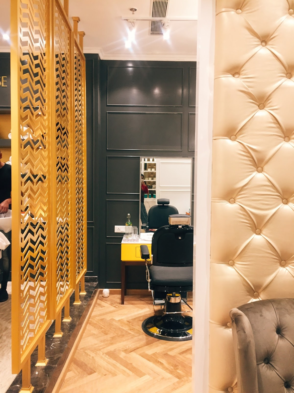 noir salon, curls, the chanakya, new in delhi, indian blogger