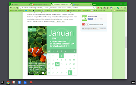 Chrome OS di Windows 8
