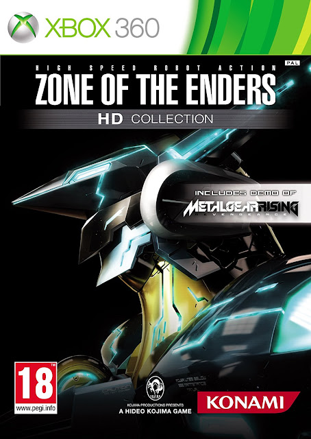 Zone Of The Enders HD Collection - Xbox 360 - Multi5 - Portada