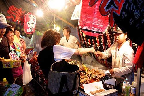 The Anjo City Tanabata Festival took house from August  TokyoTouristMap: Anjo City Tanabata Festival