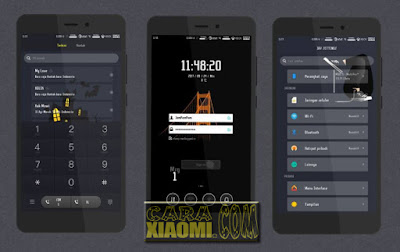 Download Thema MIUI Awesome Full Theme Mtz For Xiaomi MIUI