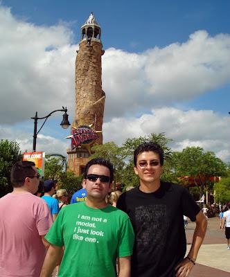 Andres Becerra Fuentes y Ricardo Astrauskas