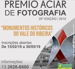 Prêmio ACIAR de fotografia amplia  prazo de inscrição até dia 30 de maio