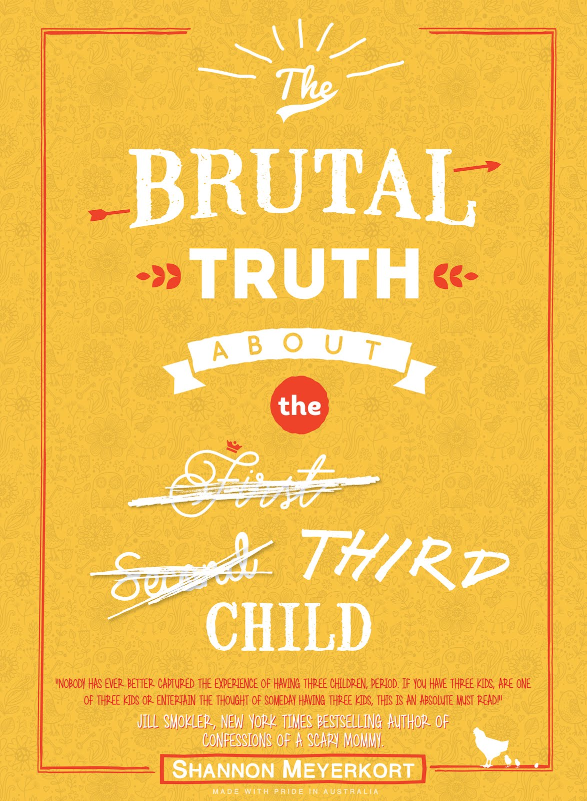 'The Brutal Truth About The Third Child' eBook now available on Amazon