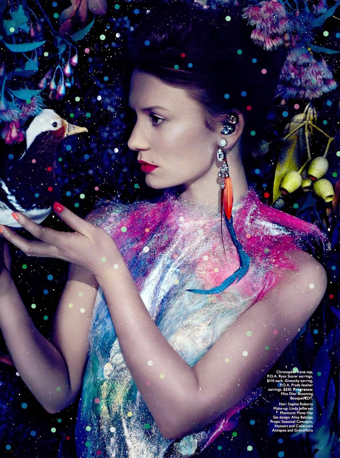 Fashion Mia Online Customer Reviews: MARGARITA BLOOM: ♡ VOGUE Australia ♡ Mia Wasikowska