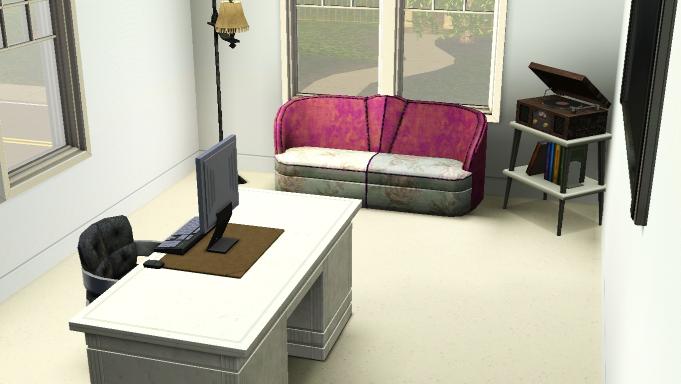sims 3 school office
