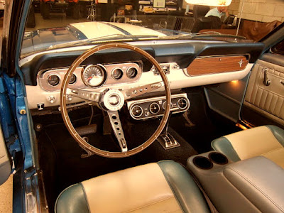1966 Ford Mustang GT 350 Sport Convertible Interior Cabin