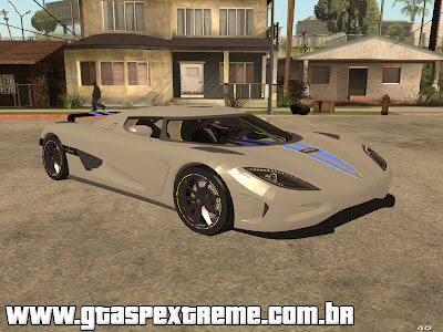 Koenigsegg Agera 2010 para GTA San Andreas