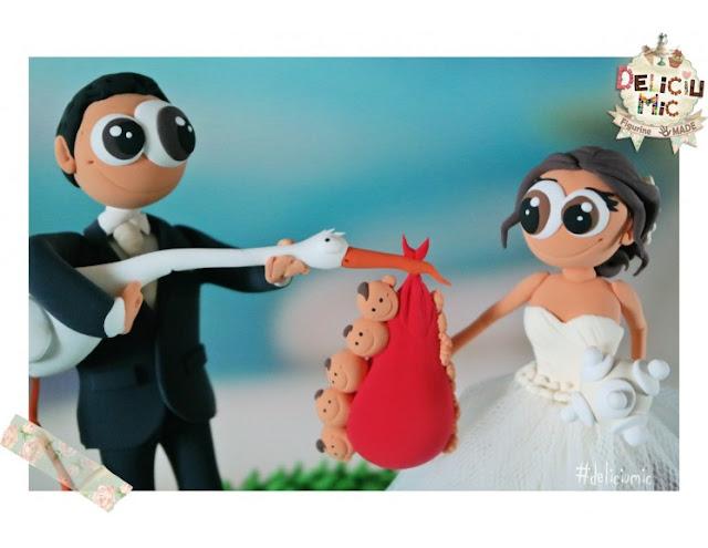 figurine handmade nuntă
