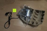 Motor: Andrew James 40cm Standventilator mit Chromfinish – 60 Watt Motor, Verstellbare Höhe, 3 Geschwindigkeitseinstellungen, verstellbare Neigung und Schwenkfunktion + Hochbeanspruchbar – 2 Jahre Garantie