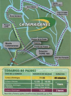 conhecendo a América Latina; Tigre; Grande Buenos Aires; catamarã; Catamaranes Interilneña; Museu Sarmiento; Museu casa