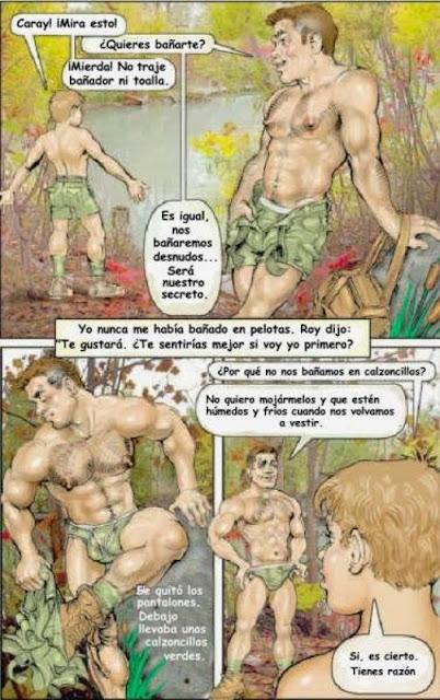 Historias de campamento de verano de sexo gay
